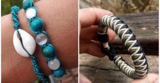 como fazer pulseira artesanal