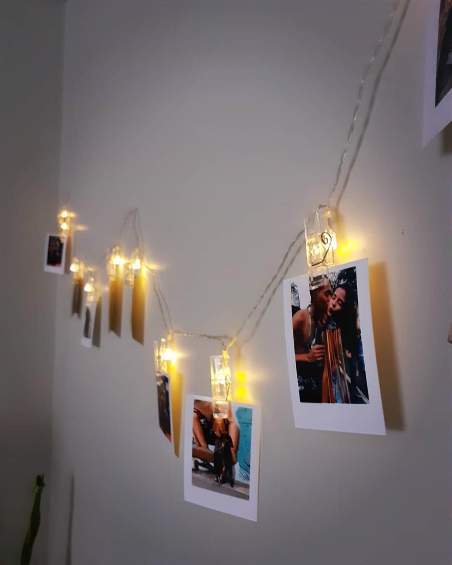 decoração com led