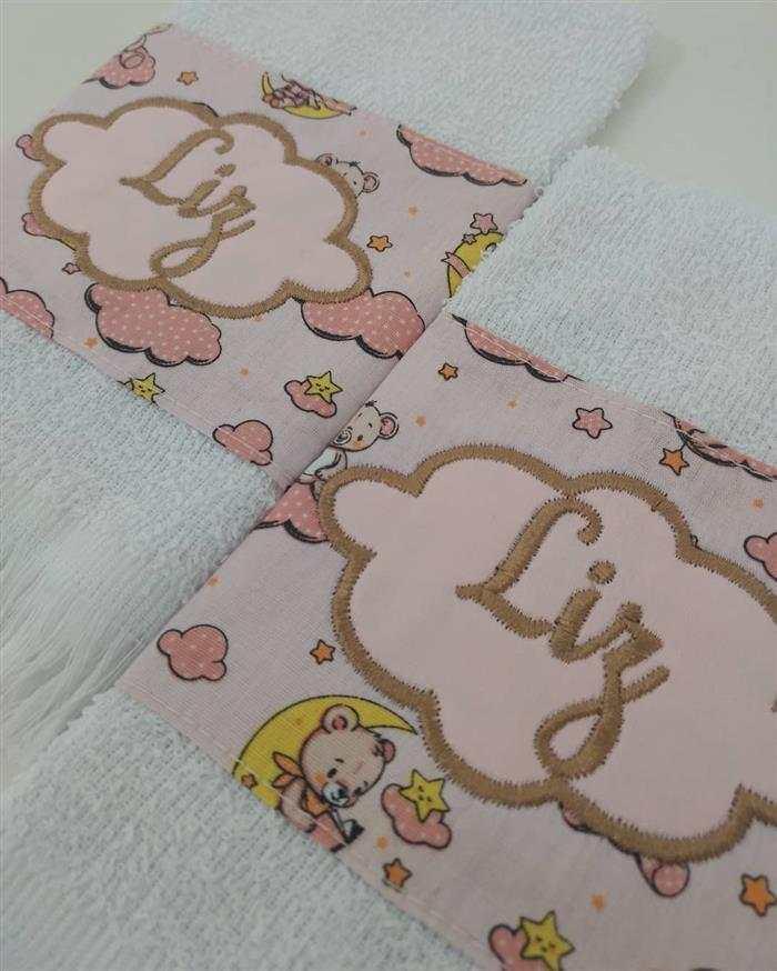 toalhas bordadas bebe