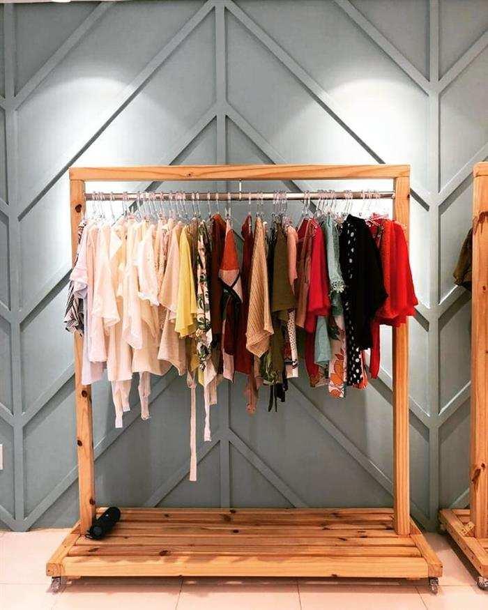 organizador roupa e prateleira