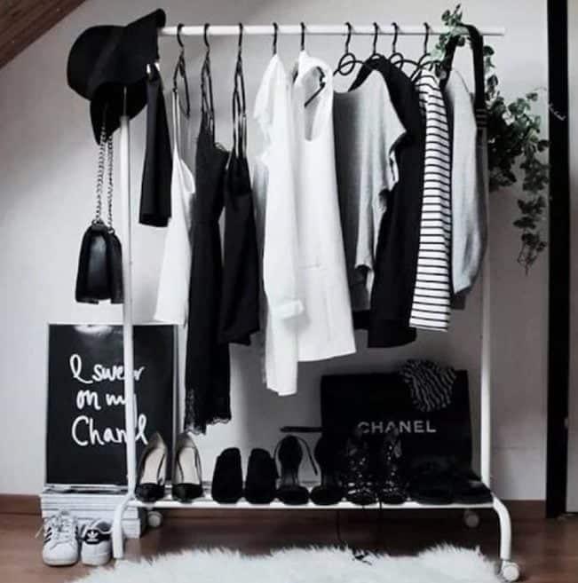 organizador roupas ajustavel