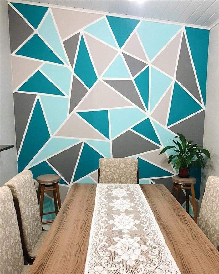 parede mosaico