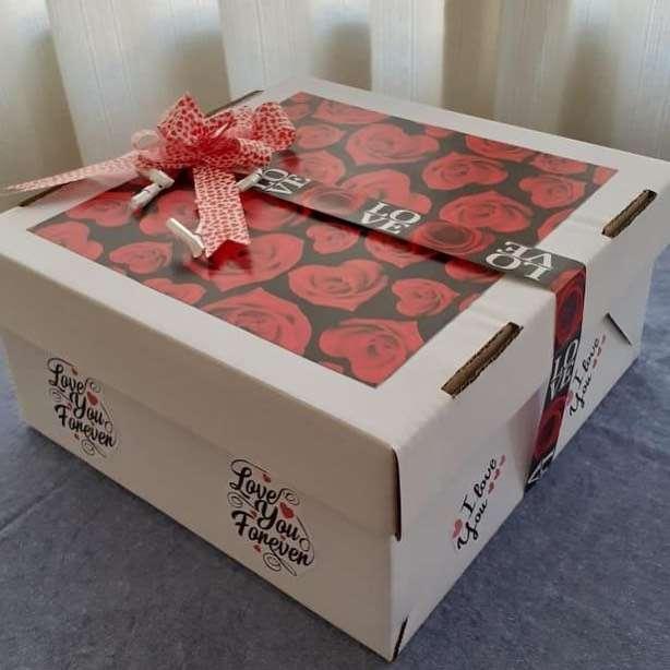 caixa de presentes para namorado