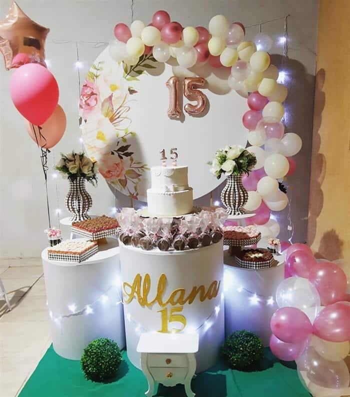 decoração festa de aniversario