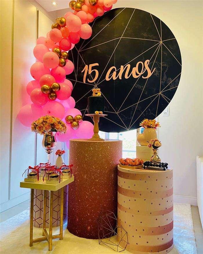 decoração festa simples feminina