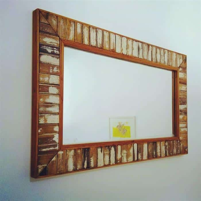 moldura para espelho antigo