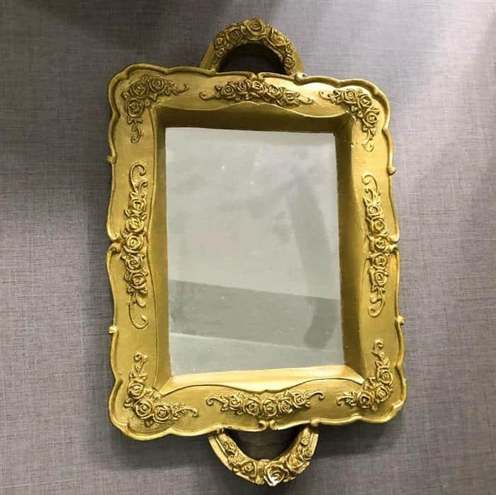 moldura para espelho de gesso