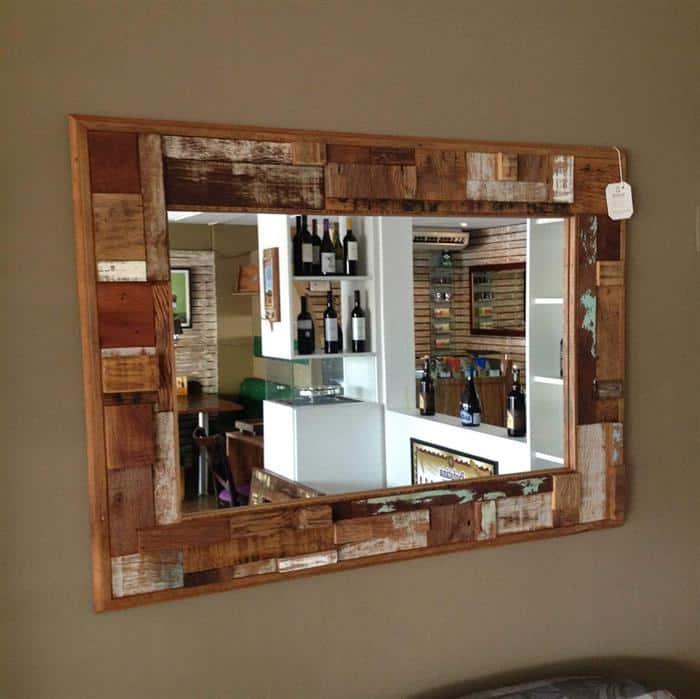 moldura para espelho de sala