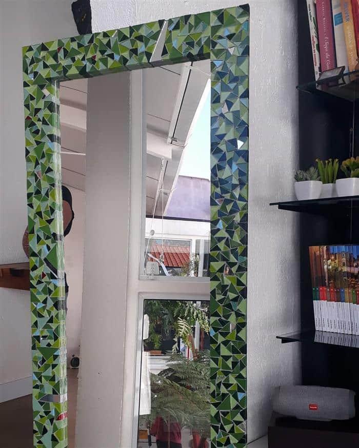 moldura para espelho grande de parede