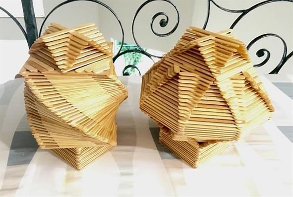 caixa espiral de palito