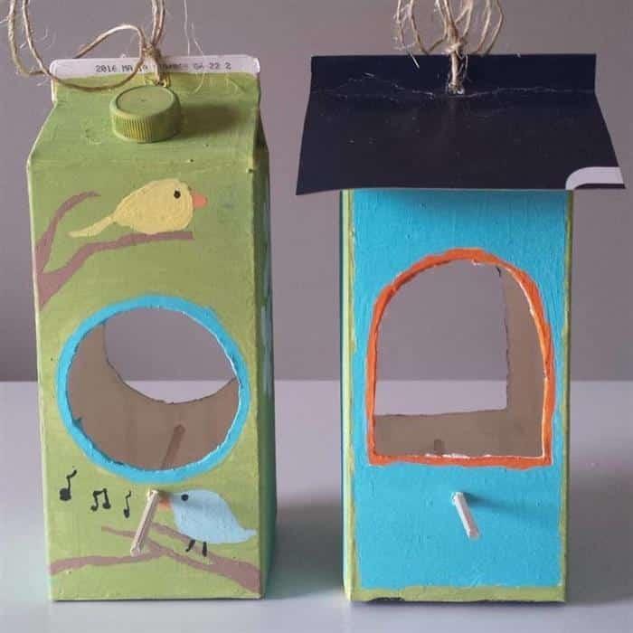 casinha para passarinho