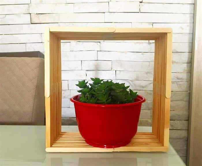 nicho para plantas pequenas