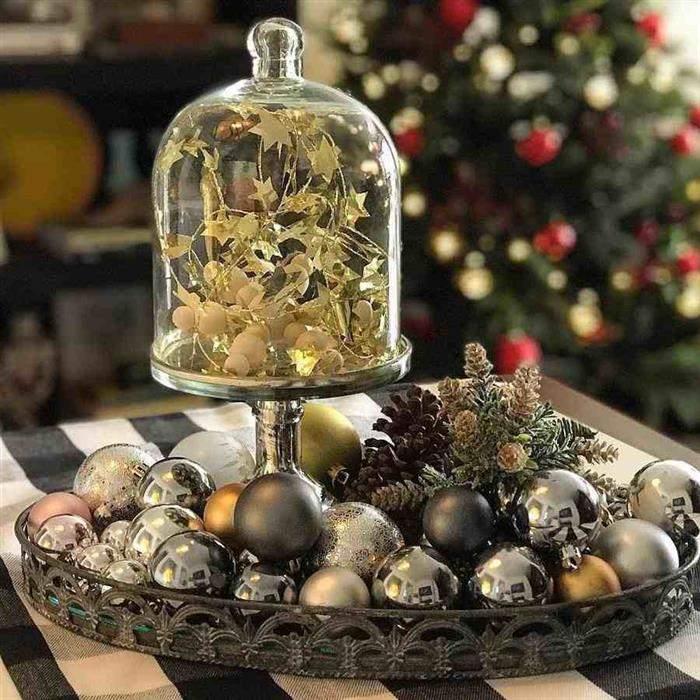 tipos de decoração para ano novo