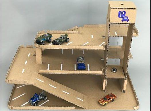 como fazer rampa para carrinhos