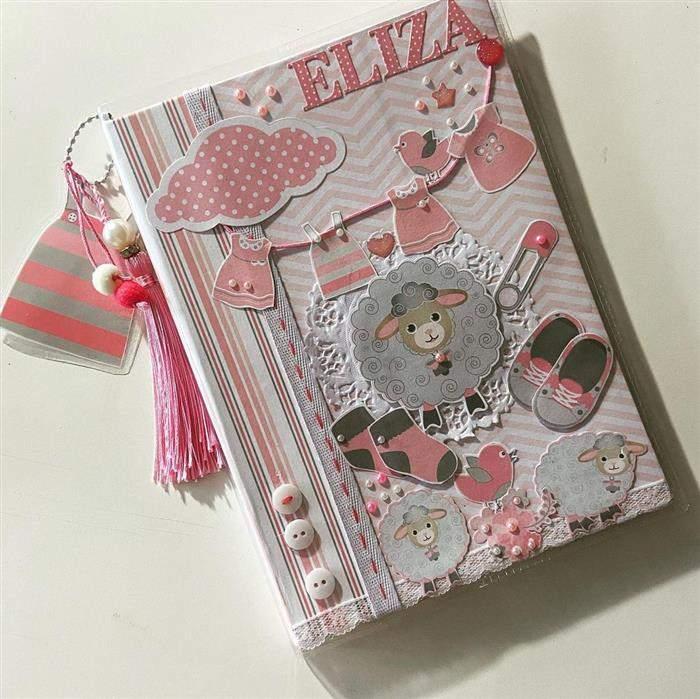 decoração para caderno