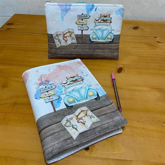 personalização de cadernos