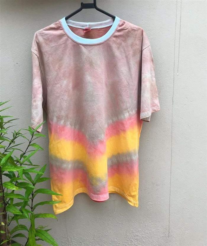 camiseta tie dye 3 cores
