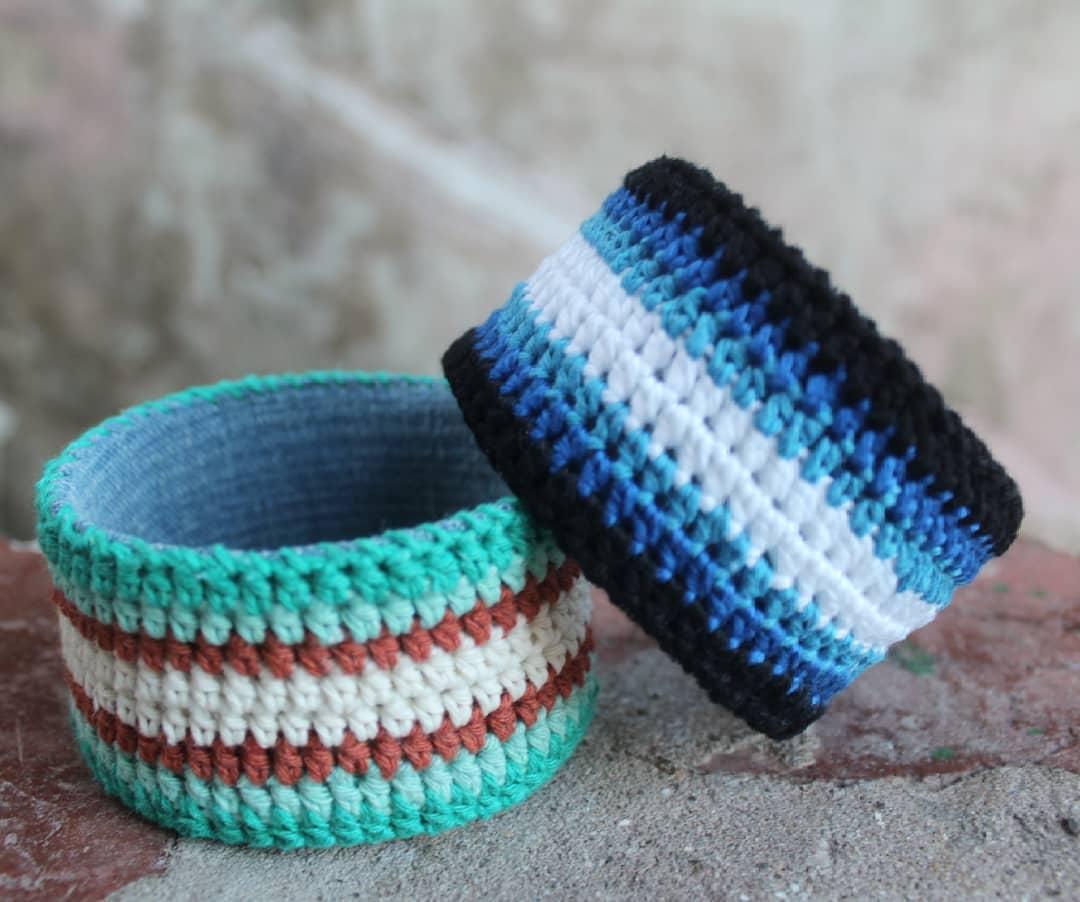 bracelete de croche