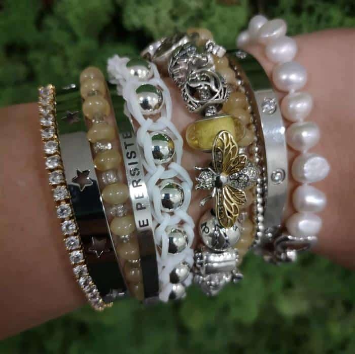 pulseira de liguinha moderna