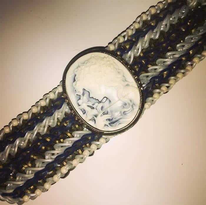 pulseira elastico para festa