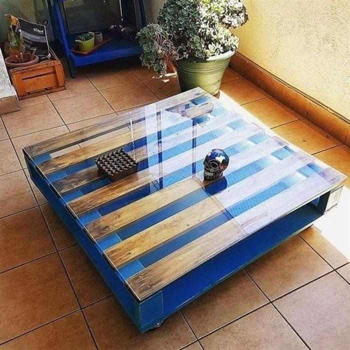 mesa de centro de pallet passo a passo