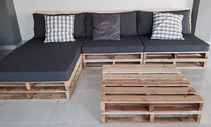 mesa de pallet para varanda