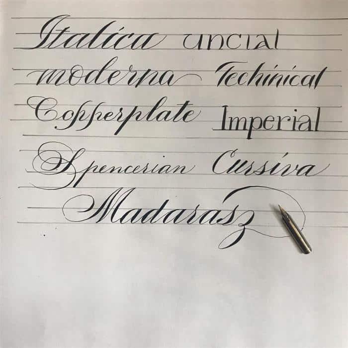 caligrafia artistica
